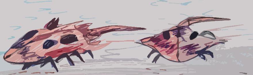 Horseshoe Crabs Digital Art - Horseshoe Crabs by Andrew Blitman