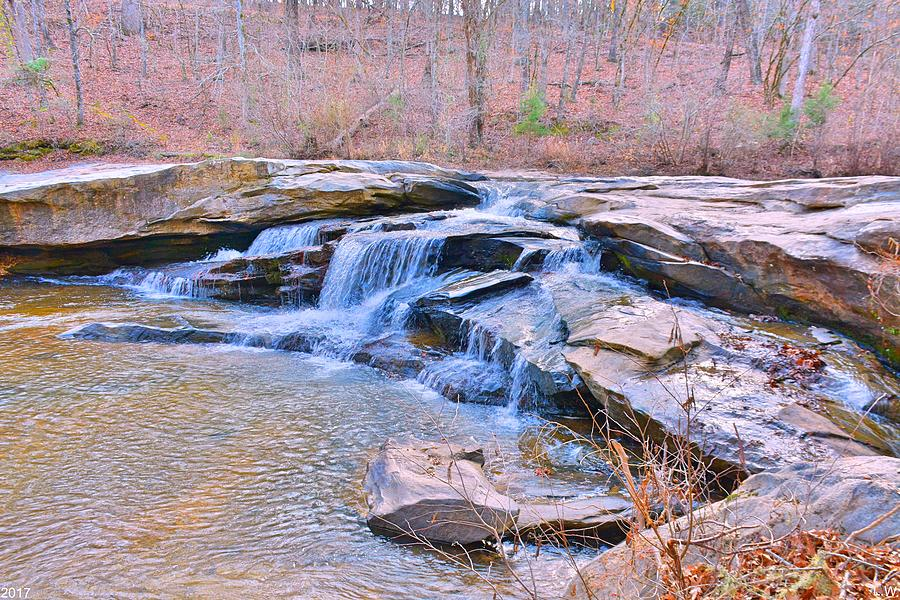 Horseshoe Falls Photograph - Horseshoe Falls At Musgrove Mill Historic Site by Lisa Wooten