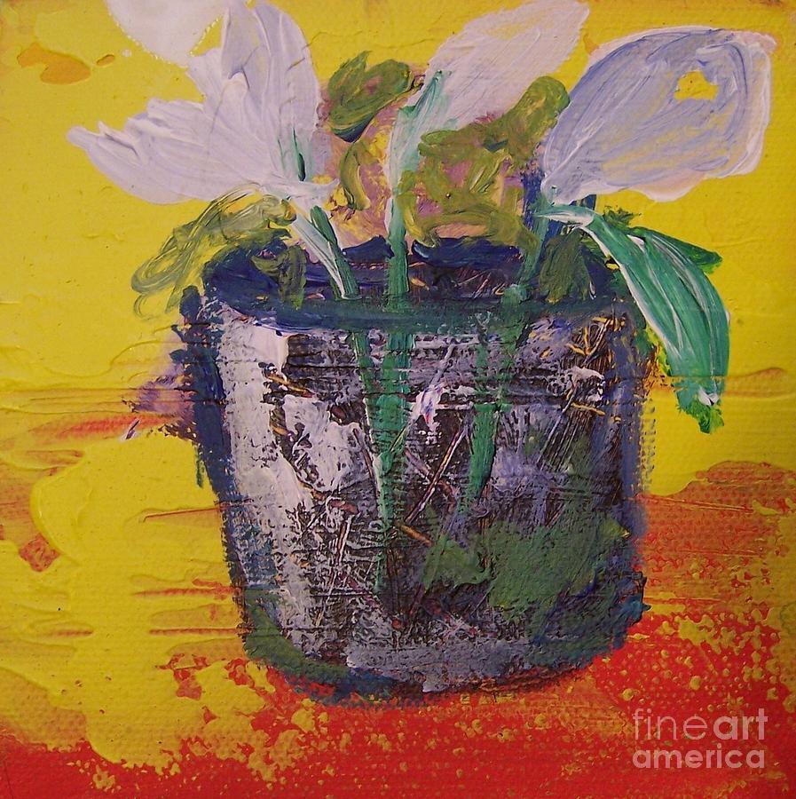 Flowers Digital Art - Hostas In Sunny Day by Geraldine Liquidano