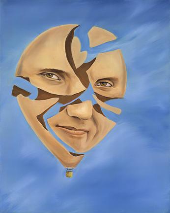 Vibrant Painting - Hot Air Ballon by Sandi Snead