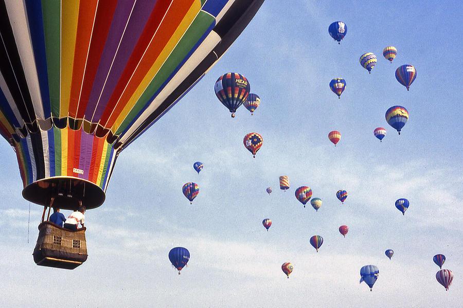 Hot Air Balloon Photograph - Hot Air Balloon - 12 by Randy Muir