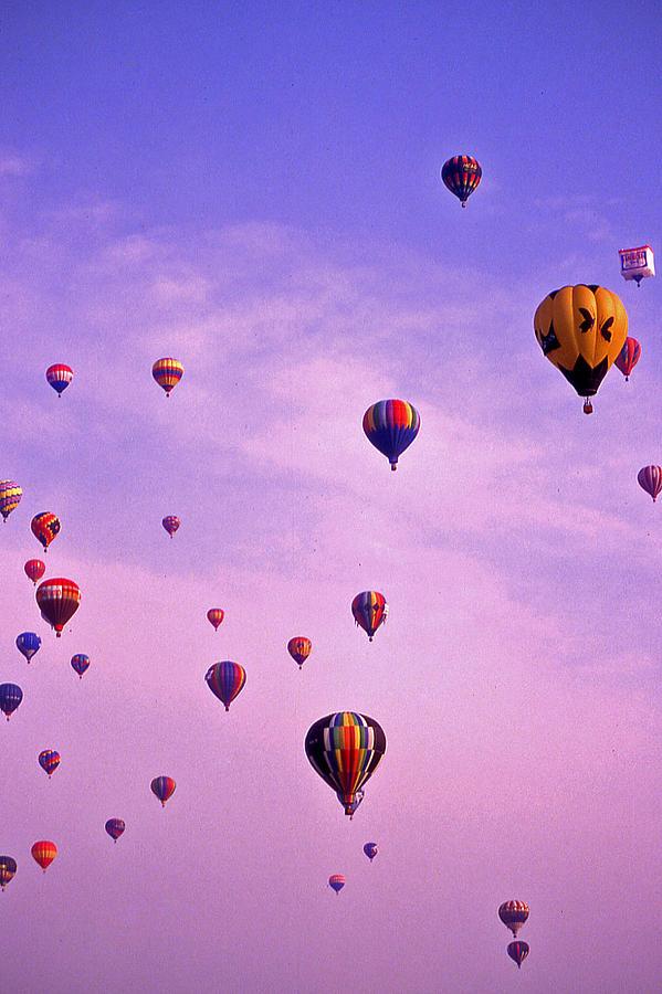 Hot Air Balloon Photograph - Hot Air Balloon - 13 by Randy Muir
