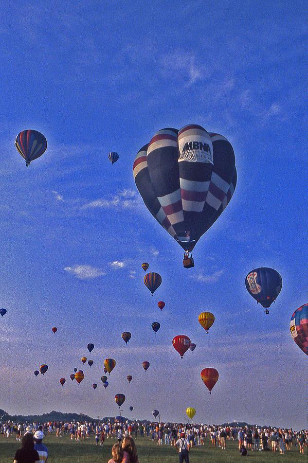 Hot Air Balloon Photograph - Hot Air Balloon - 14 by Randy Muir