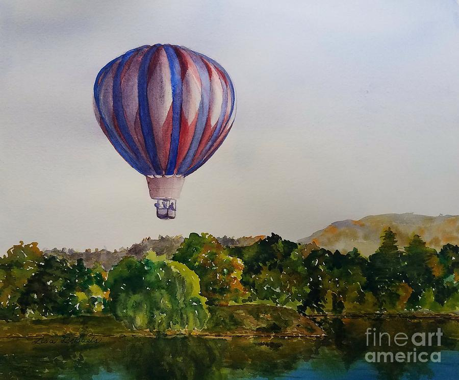 Hot Air Balloon Flight by LISA DEBAETS