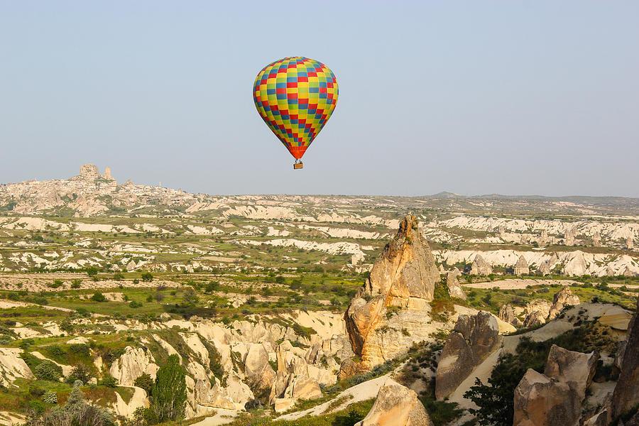 Hot Air Balloon Photograph - Hot Air Balloon by Freepassenger By Ozzy CG