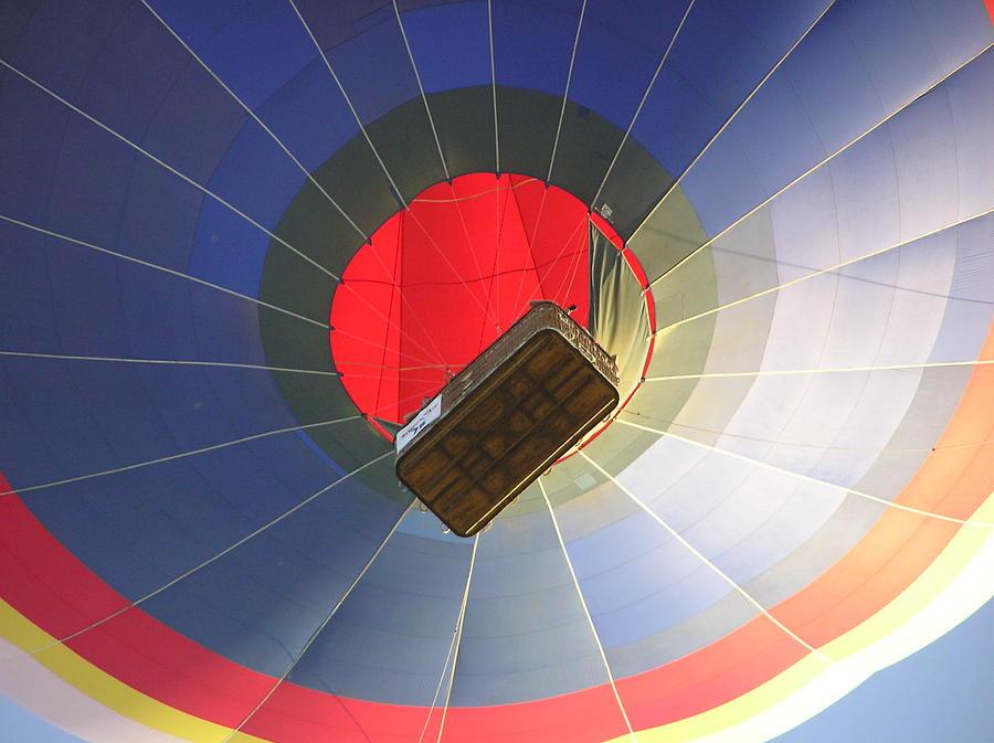 Ballon Photograph - Hot Air Balloon by Richard Mitchell