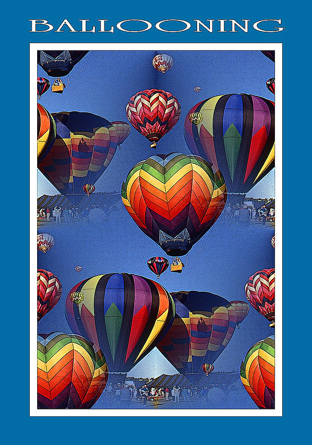 Hot Air Ballooning Poster by Peter Potter