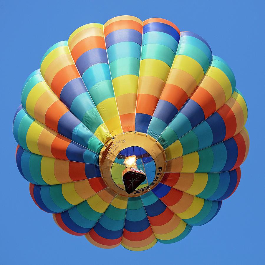 - Hot Air Balloons Colors Photograph By Deborah Penland