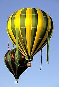 Hot Air Balloons Photograph - Hot Air Balloons by Floyd Bond
