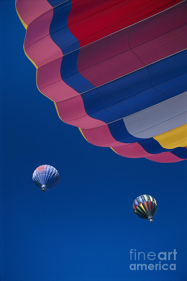 Atmosphere Photograph - Hot Air Balloons by Greg Vaughn - Printscapes