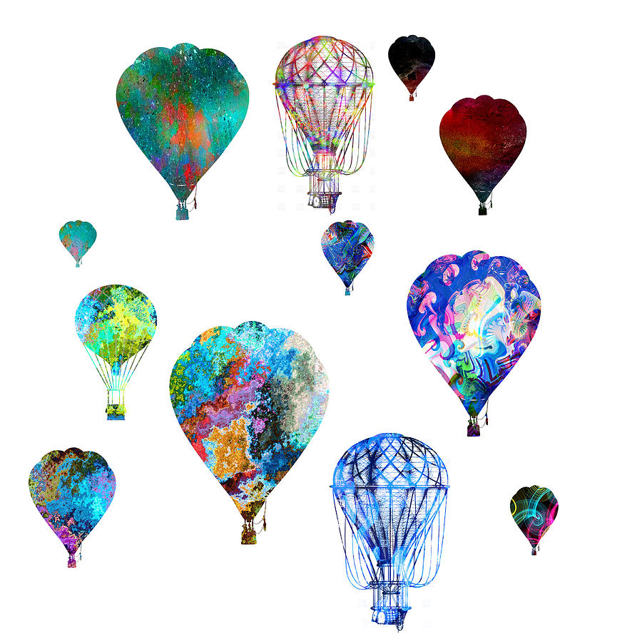Hot Air Balloons by Michael Colgate