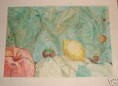 Hot Air Balloons Painting - Hot Air Fruit And Safety Strawberries Over The Snake River Gorge by Ladonna Idell