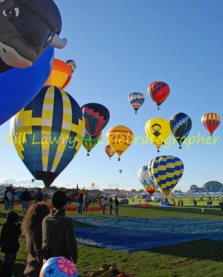 Hot Photograph - Hot Air Rising II by Bill Lawry - Celebratographer