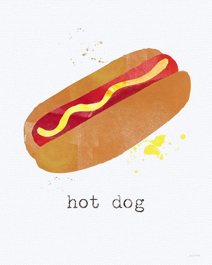 Hot Dog Painting