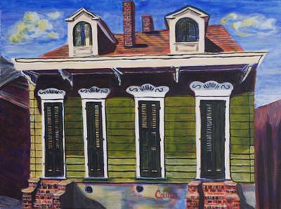 New Orleans Painting - Hot Pepper by C D  Collins