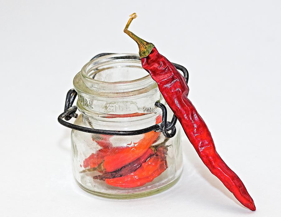 Food Photograph - Hot Pepper by John Mueller