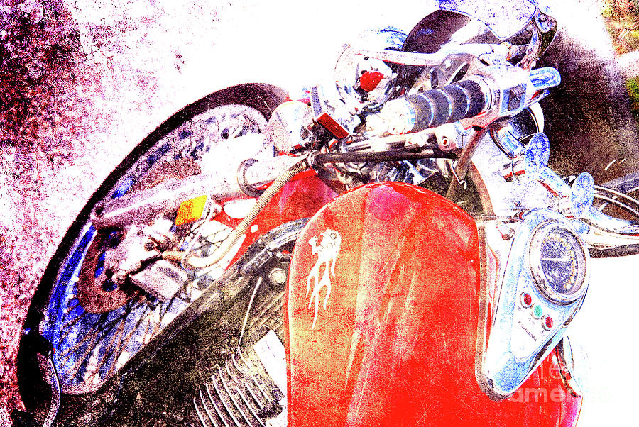Ducati Photograph - Hot Red by Susanne Van Hulst