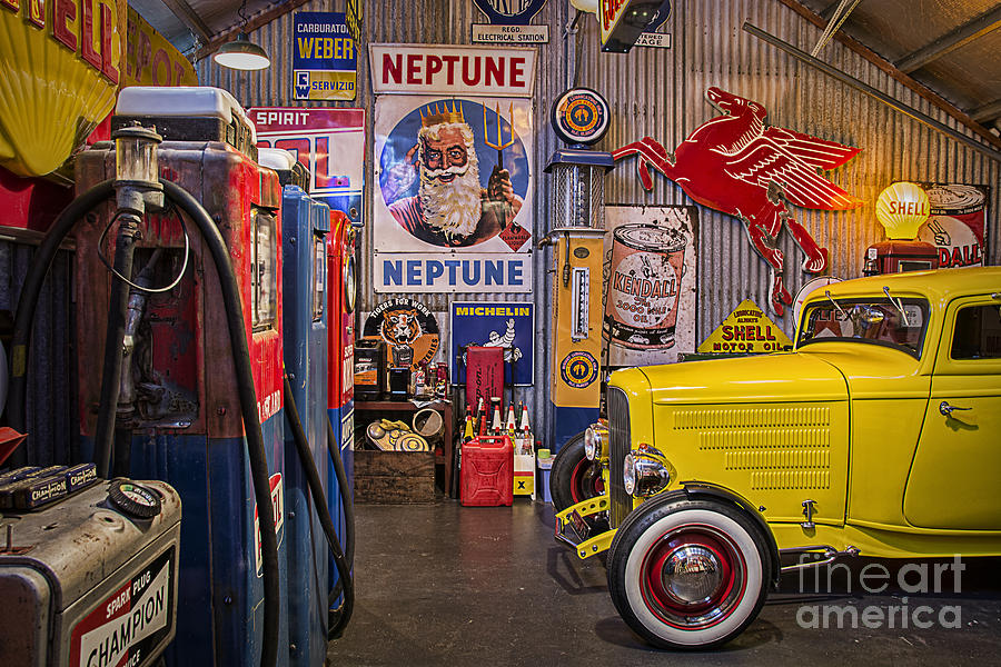 Hot Rod Garage : Hot rod garage photograph by stuart row