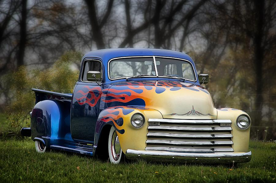 Hot Rod Truck by Dick Pratt