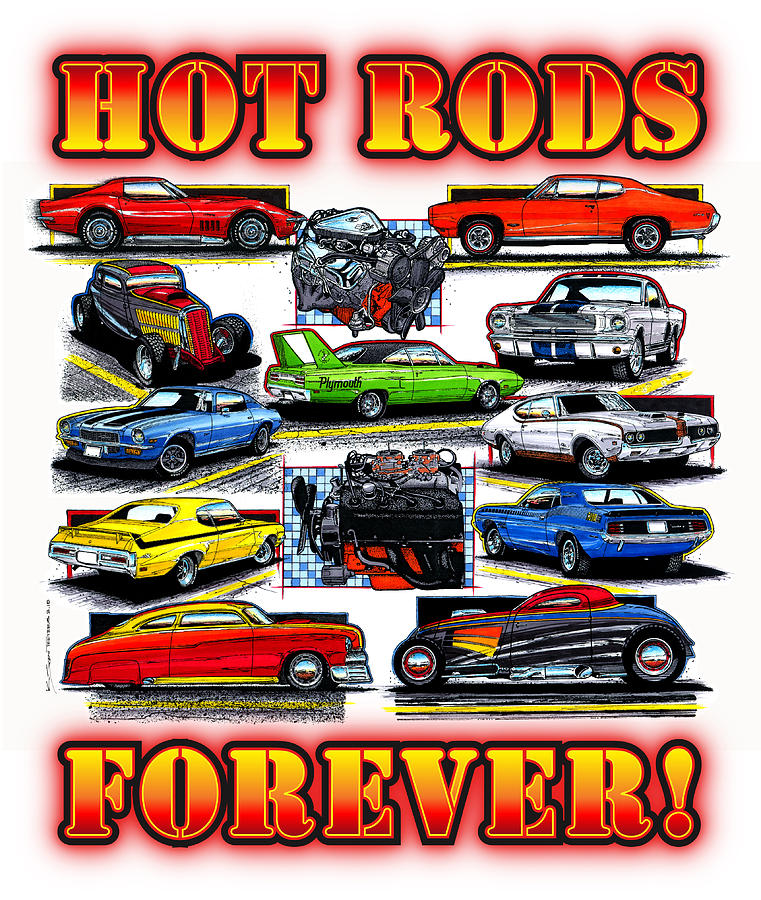 HOT RODS FOREVER by K Scott Teeters