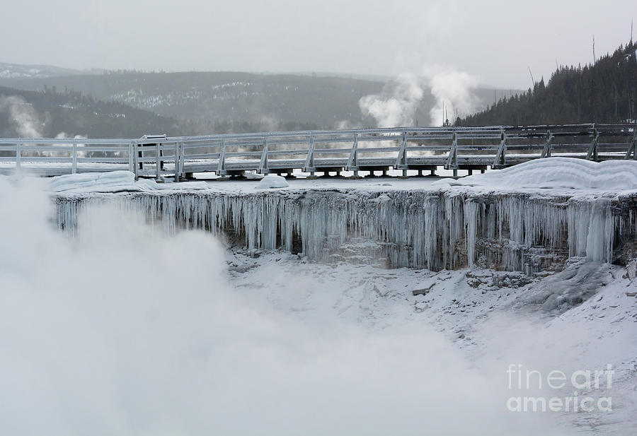 Hot Springs Cold Ice by Chris Beverly