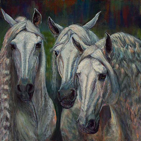 Hot To Trot Painting by Rita Cortesi