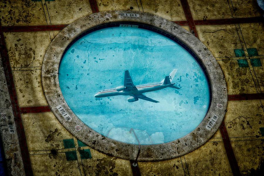 Hot Tub Flight by Harry Spitz
