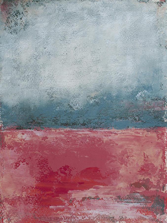 Blue Painting - Hot Water by Katrina Nixon