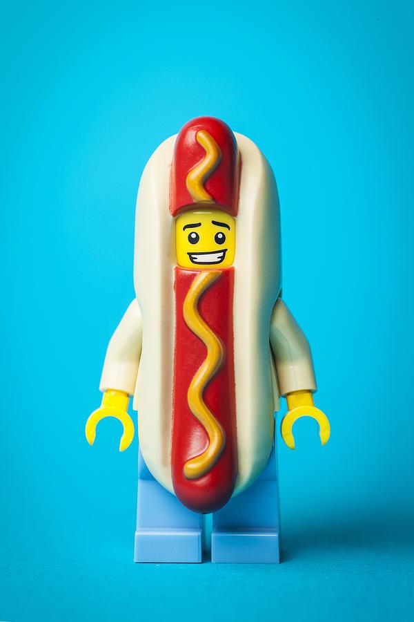 Hotdog Dude Photograph