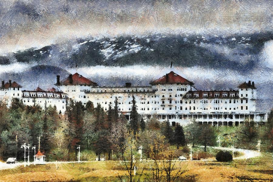Mount Washington Photograph - Hotel At Mount Washington by Jim Proctor