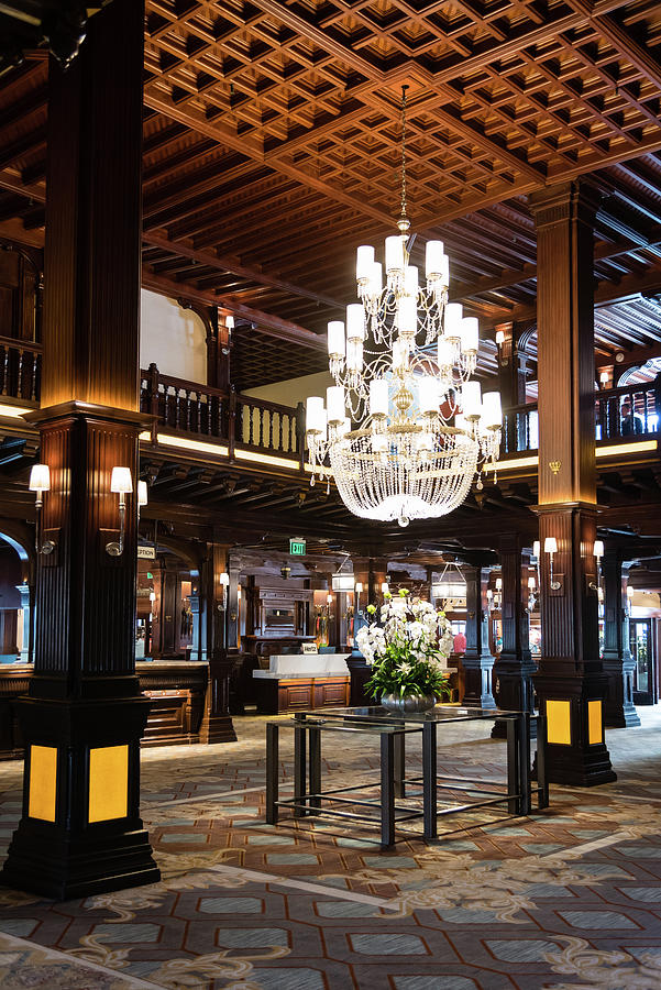Hotel Del Coronado Lobby Photograph By Robert VanDerWal