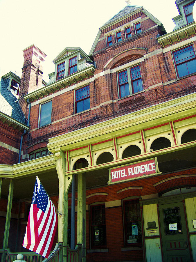 Pullman National Monument Photograph - Hotel Florence Pullman National Monument by Kyle Hanson