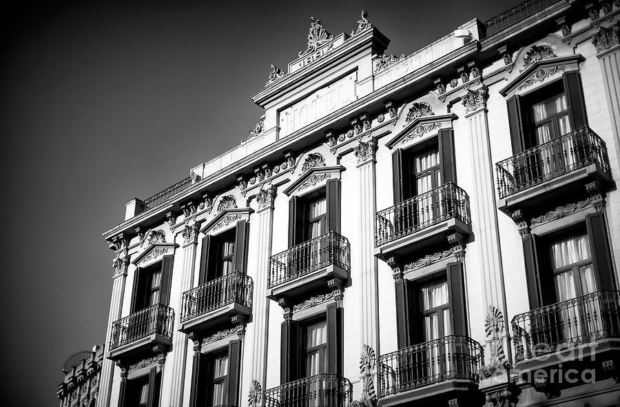 Hotel Photograph - Hotel Internacional Cool Ramblas by John Rizzuto