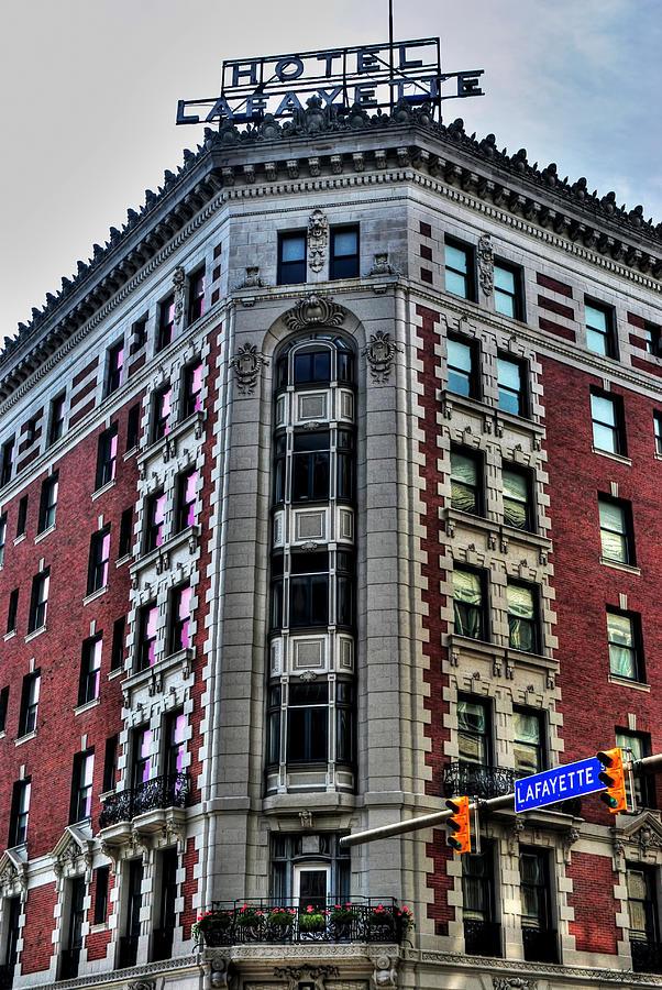 Hotel Lafayette Series 0003 Photograph by Michael Frank Jr