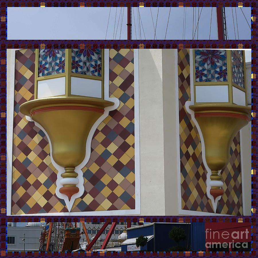 Announcement Photograph - Hotel Taj Palace Atalantic City Wall Decorations Photography By Navinjoshi At Fineartamerica.com   by Navin Joshi