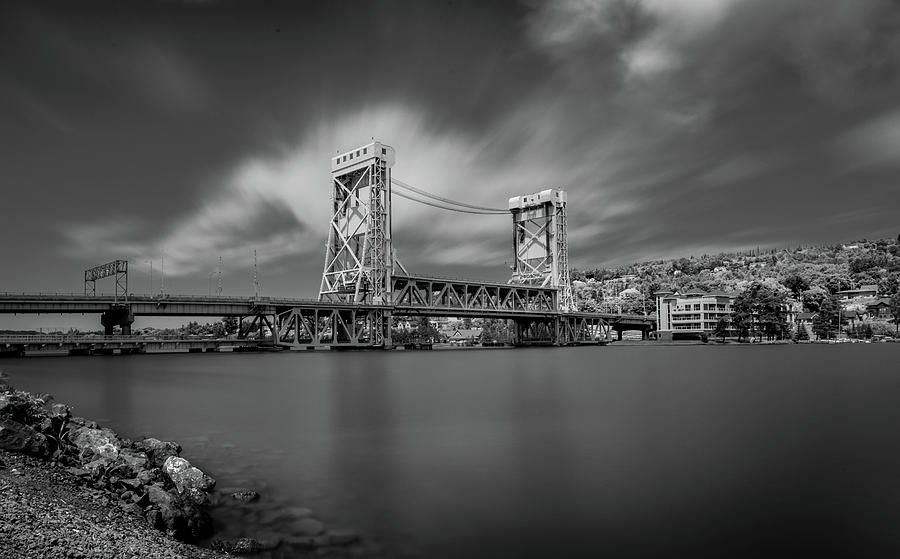 Houghton Portage Bridge by James Howe