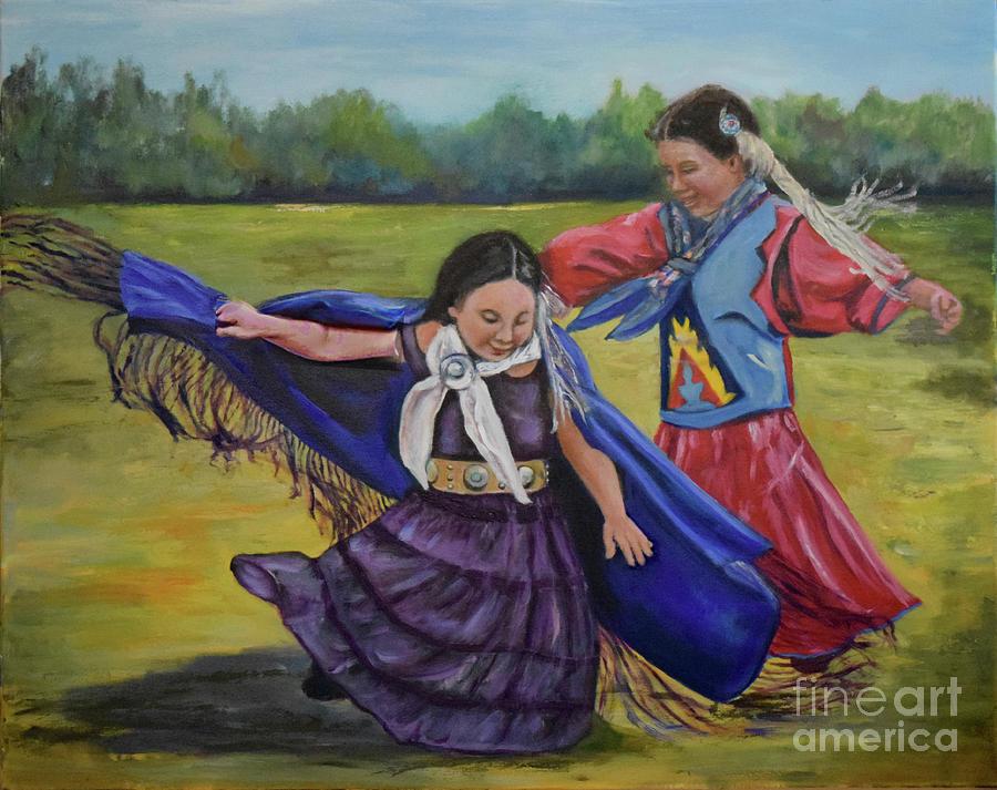 Houma Indian Dance by Sandra Nardone