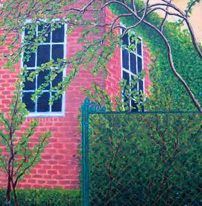 House Painting - House And Garden by Lana Cheng