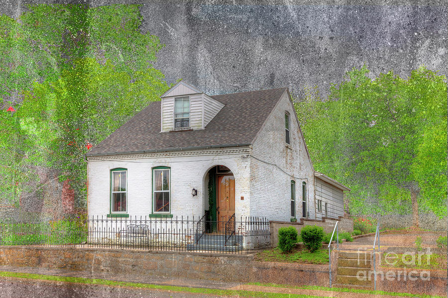 Horizontal Photograph - House At 323 Themis Street  by Larry Braun