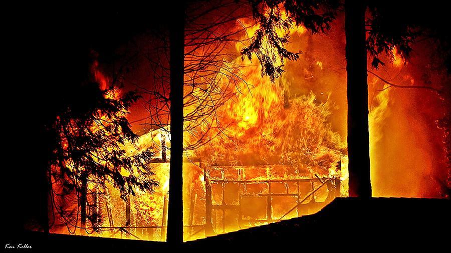 House Fire Photograph