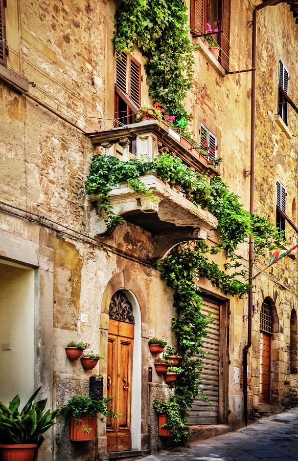 House In Arezzoo, Italy Photograph
