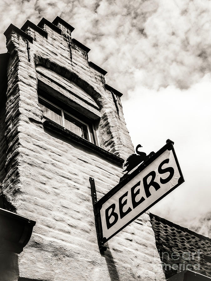 Shop Photograph - House Of Beer by Lexa Harpell