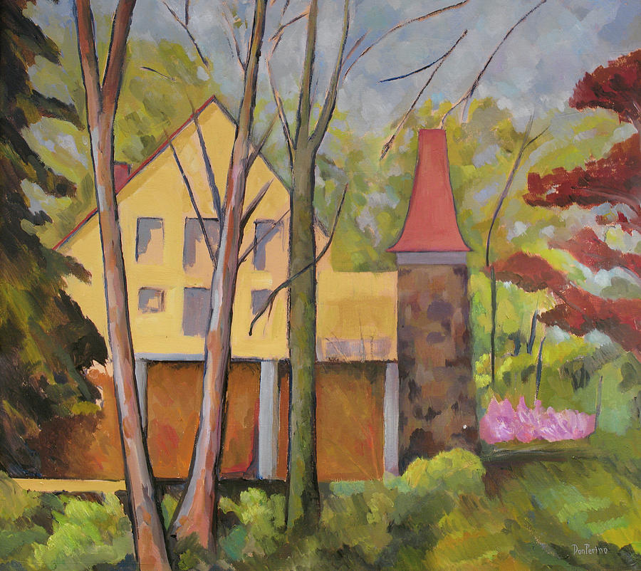 Clara Barton Painting - House Of Clara Barton by Don Perino