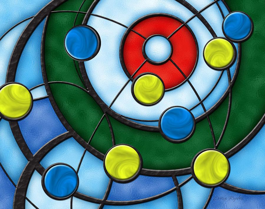 Curling Digital Art - House Of Glass by Chris Rhynas
