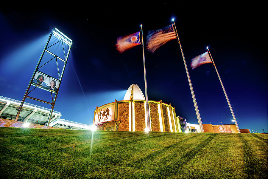 House Of Greatness - Pro Football Hall Of Fame - Canton Ohio Photograph