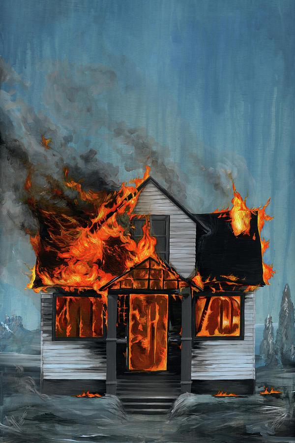 HERO BIKER SAVE HOUSE FROM BURNING DOWN - YouTube