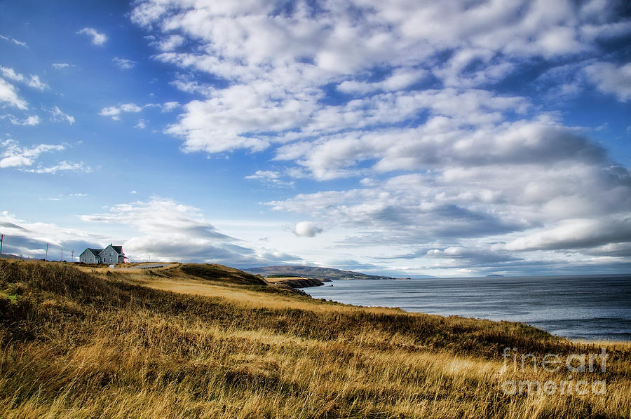 Nova Scotia Photograph - House On The Coast by Scott Kemper