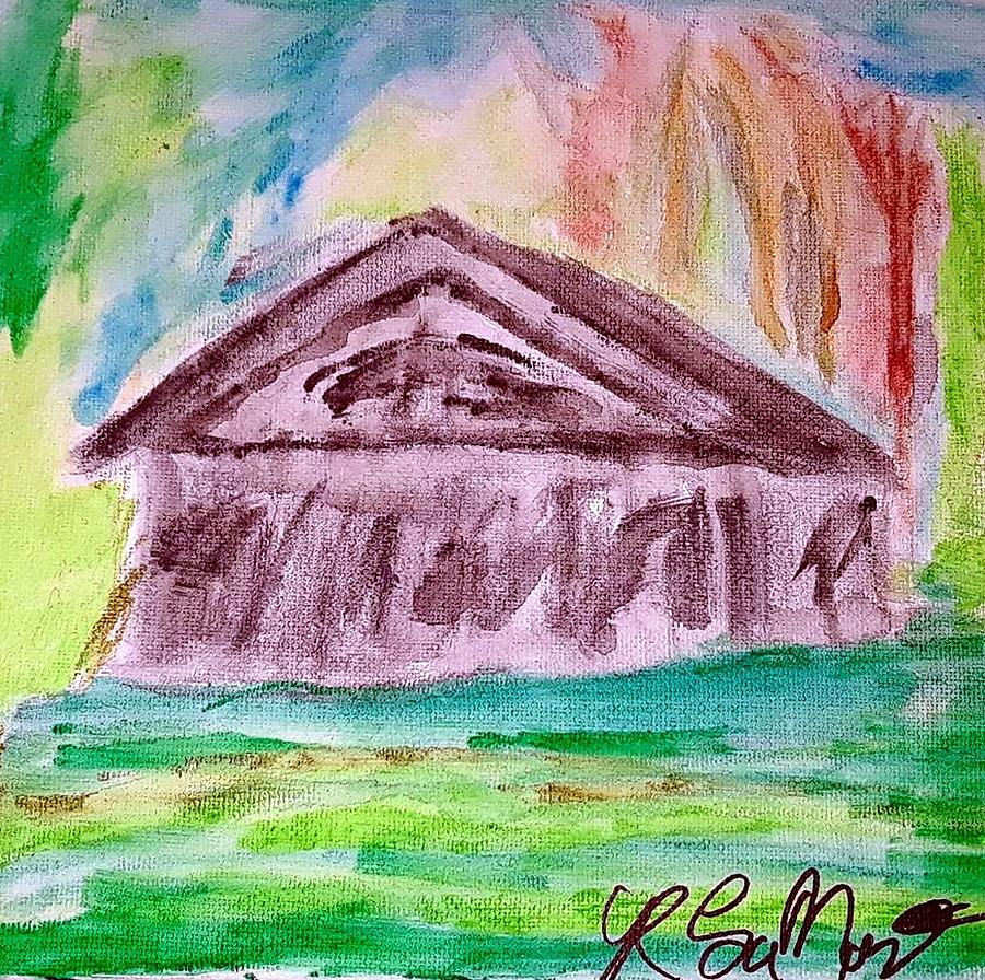 House On The Prairie Painting by Robert Lamar