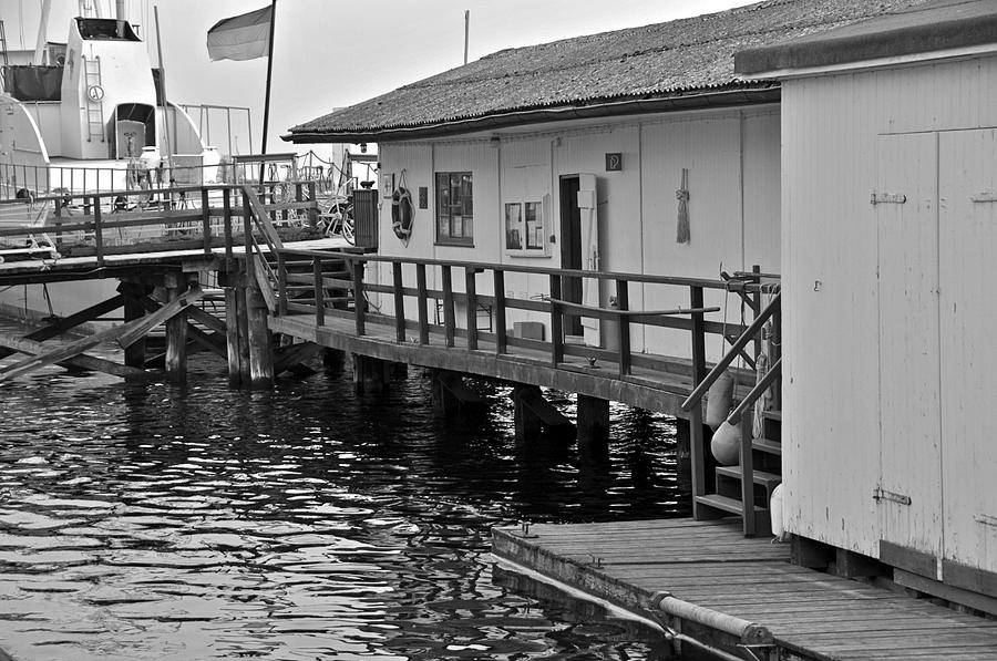 Water Photograph - House On The Water by Richard Pierce
