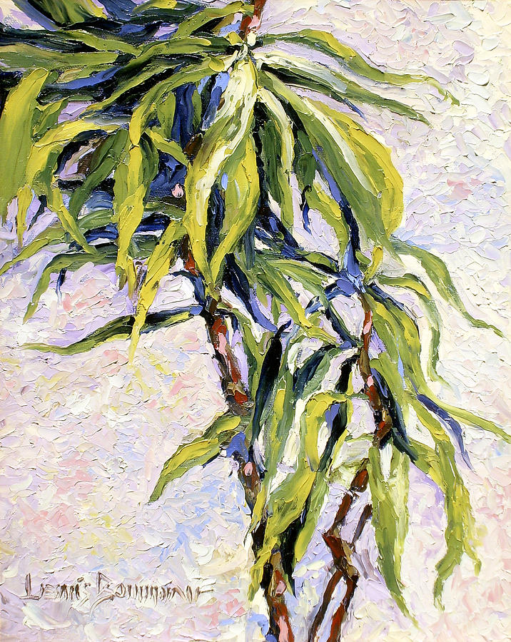 Yucca Painting - House Plant by Lewis Bowman